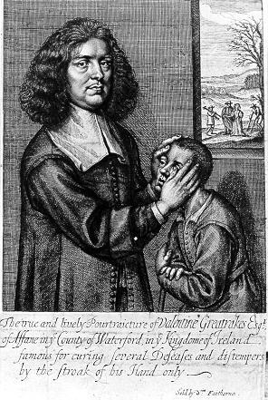 Histoire de l'hypnose - Greatrakes
