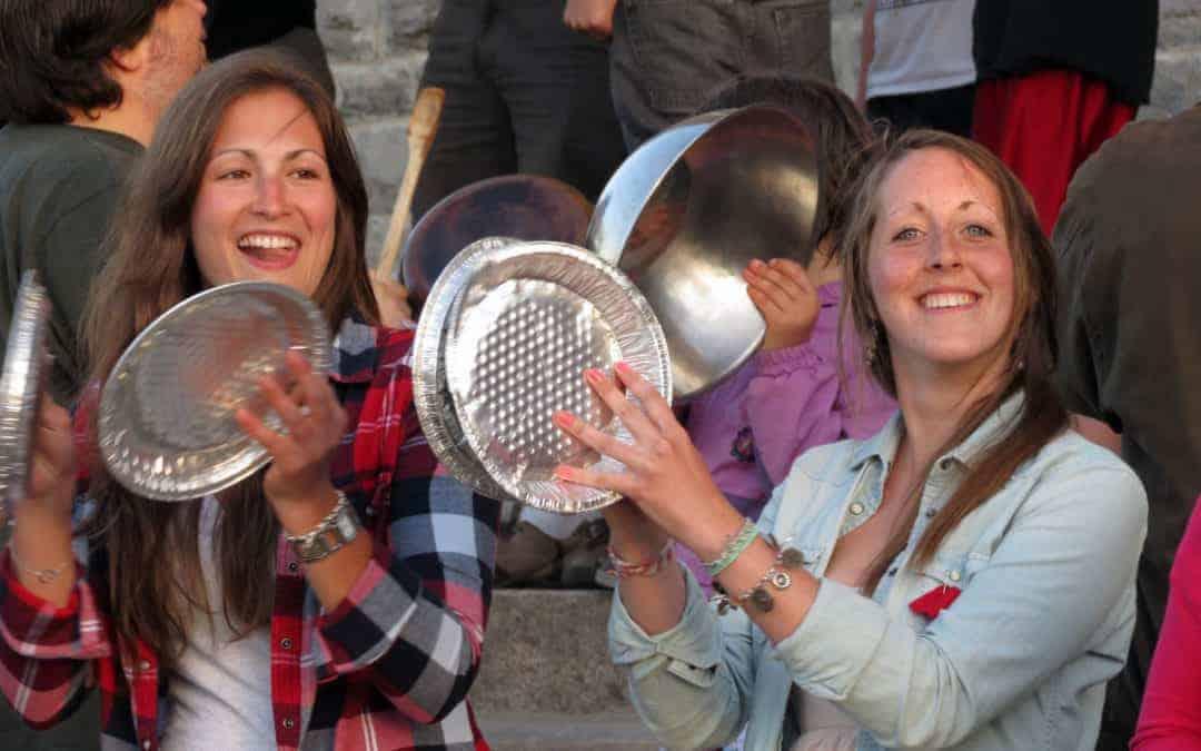 Concert de casseroles de Sainte-Agathe-des-Monts