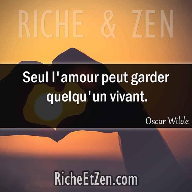 Seul l'amour peut garder quelqu'un vivant. - Oscar Wilde - citation sur l'amour - des citations d'amour - les citations d'amour - citations amour - citations sur l'amour - citations d'amour - citations d amour - citations sur l amour