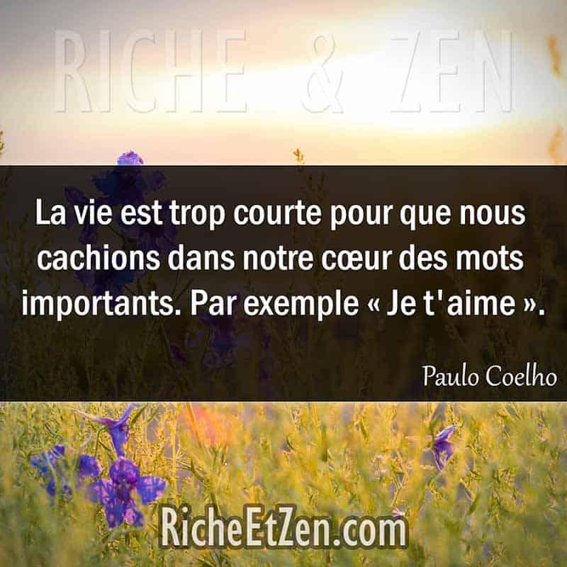 Une citation sur l 39 amour a fait toujours du bien riche et zen - Citation d amour courte ...