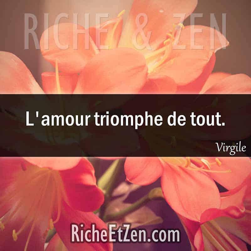 L'amour triomphe de tout. - Virgile - citation sur l'amour - des citations d'amour - les citations d'amour - citations amour - citations sur l'amour - citations d'amour - citations d amour - citations sur l amour