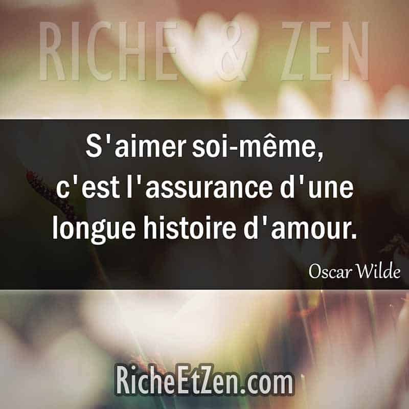 S'aimer soi-même, c'est l'assurance d'une longue histoire d'amour. - Oscar Wilde - des citations d'amour - les citations d'amour - citation sur l'amour - citations amour - citations sur l'amour - citations d'amour - citations d amour - citations sur l amour