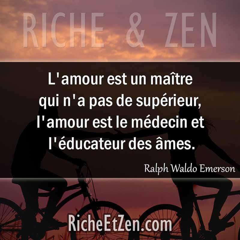 L'amour est un maître qui n'a pas de supérieur, l'amour est le médecin et l'éducateur des âmes. - Ralph Waldo Emerson - citation sur l'amour - des citations d'amour - les citations d'amour - citations amour - citations sur l'amour - citations d'amour - citations d amour - citations sur l amour
