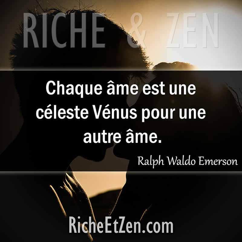 Chaque âme est une céleste Vénus pour une autre âme. - Ralph Waldo Emerson - des citations d'amour - les citations d'amour - citation sur l'amour - citations amour - citations sur l'amour - citations d'amour - citations d amour - citations sur l amour