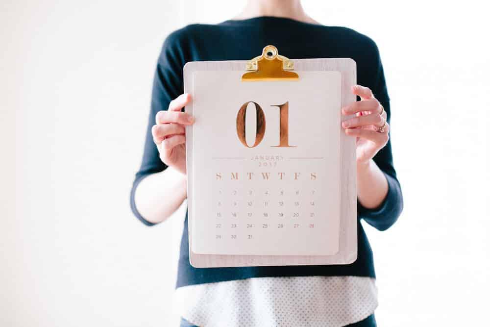 7 conseils pour arrêter de fumer facilement - choisir une date